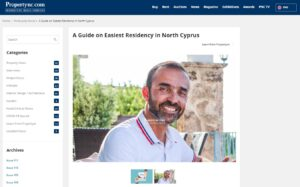 A Guide on Easiest Residency in North Cyprus. Easy as 1-2-3 Retirement in Forbes' Top Picked Beachfront Location