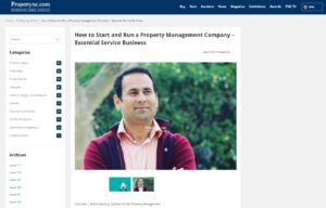 How to Start and Run a Property Management Company – Essential Service Business